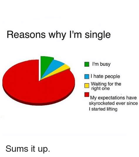 I Hate People Meme - reasons why i m single i m busy i hate people waiting for