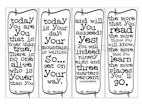 printable bookmarks black and white 8 best images of free inspirational printable bookmarks