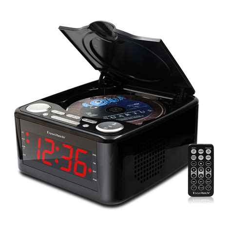 clocked cd drive mp player cd stereo speakers alarm
