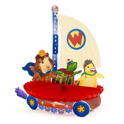 nick jr wonder pets fly boat wonder pets centerpiece 1636631