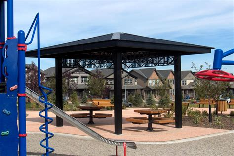 gazebo steel steel gazebos vardell series custom park leisure