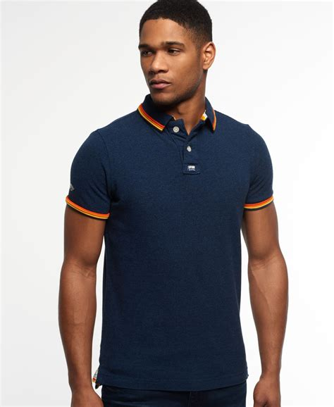 Polo Shirt Surf new mens surf edition pique polo shirt navy jaspe