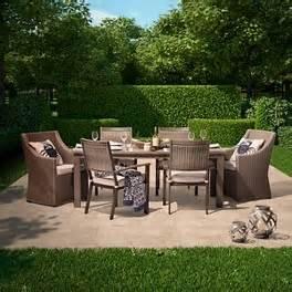 smith and hawken patio furniture smith hawken premium edgewood 7 wicker patio