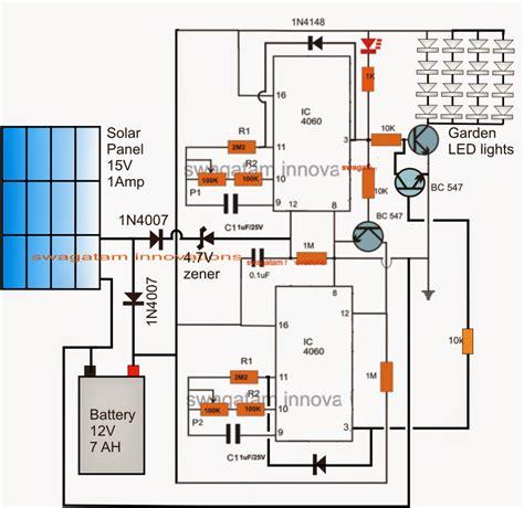 solar garden light circuit solar garden light with programmable timer circuit