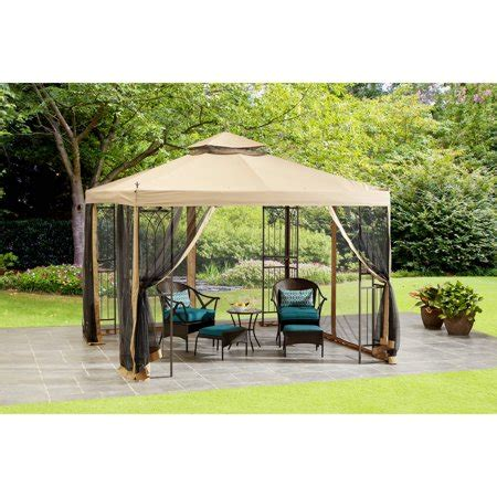 Easy Gazebo by Mainstays 10 X 10 Steel Easy Assembly Gazebo With