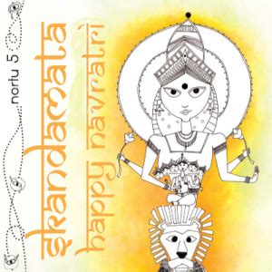 happy navratri quotes for whatsapp: images and text