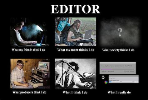 Meme Editing - meme what people think i do is not what i really do