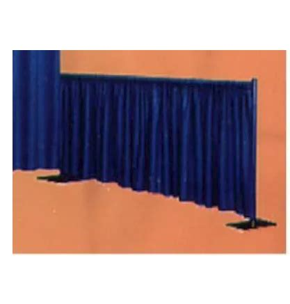 pipe and drape rental denver 8 high section of pipe drape price per foot wright