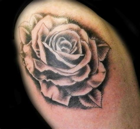 tattoos roses black and grey february 2015 secret ink