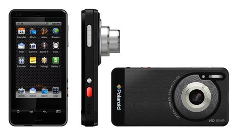 polaroid mobile phones polaroid sc1630 smart 3 2 screen optical zoom