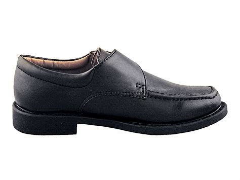 dress shoes boys boys black dress shoes with velcro