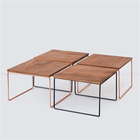 Modular Coffee Table Black The Citizenry Modular Coffee Tables