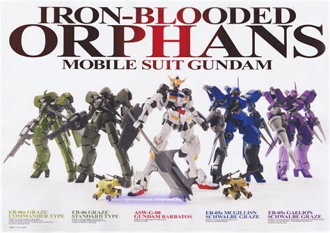 Kaos Anime Gundam Iron Blood Orphan Tekkadan Logo Mobile Suit Gundam Iron Blooded Orphans Sub