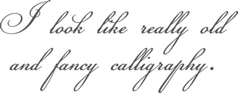 12 cursive/script fonts nose graze