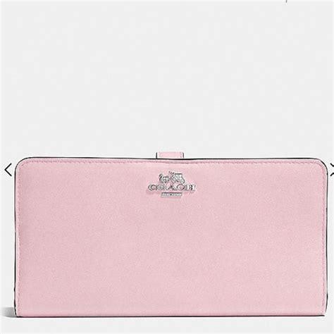 light pink coach wallet 20 off coach handbags light pink coach wallet from sena