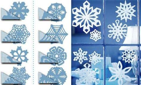 Fensterdeko Weihnachten Falten by Papier Schneeflocken Bastelanleitung Weihnachten