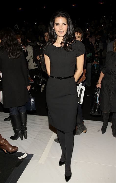 Get Look Bush Angie Harmon Burch by Hathaway S Fashion Week Fears Popsugar