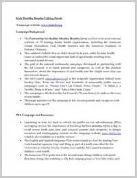 Talking Points Template Word by Wordscrawl Page 3