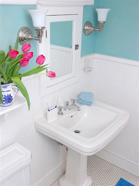 transforming a bathroom on a tight budget diy bathroom