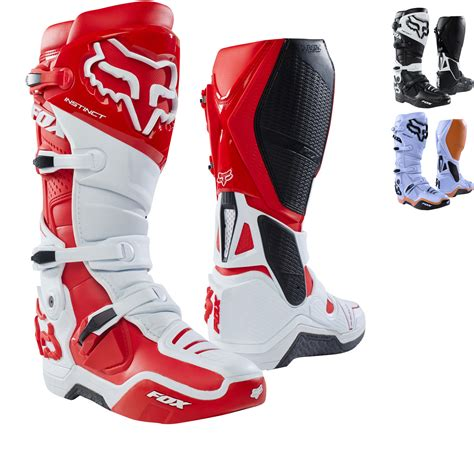 fox racing motocross boots fox racing instinct motocross boots arrivals