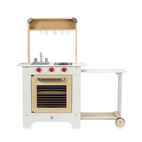 Hape Playfully Delicious Kitchen by Hape Playfully Delicious Wooden Cook N Serve Kitchen Play