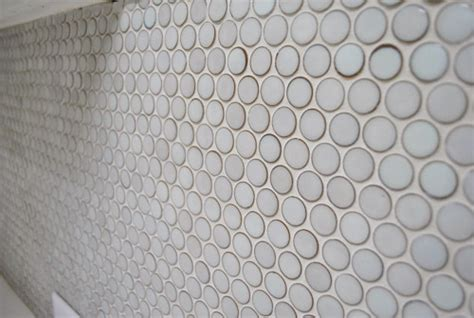 Discount Kitchen Backsplash how to grout penny tile young house love