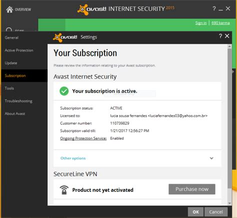 Avast Security avast security 2015 license till 2050