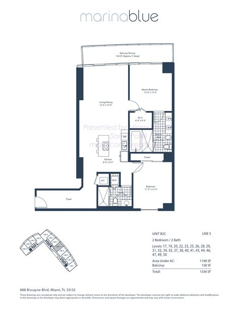 Marina Blue Floor Plans | marina blue condos 888 biscayne blvd miami fl 33132