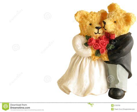 wedding bears wedding bears stock image image of husband happiness