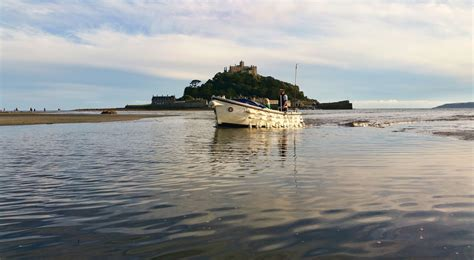 ferry boat cornwall ferry boat returns from st michael s mount cornwall guide