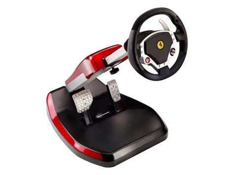 volante ps3 wireless ny tr 229 dl 246 s ratt med pedaler fr 229 n thrustmaster funkar till