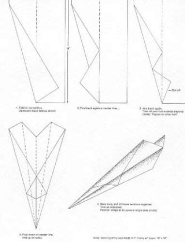 How To Make A Paper Plane That Comes Back - how to make a paper airplane that comes back to you