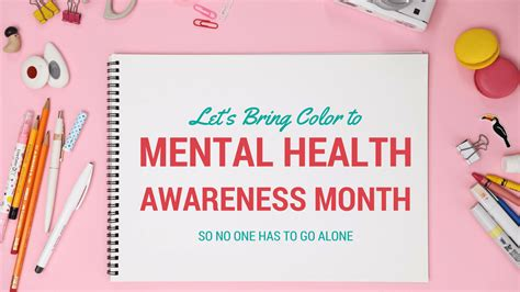 mental health awareness month color help us bring color to mental health awareness month