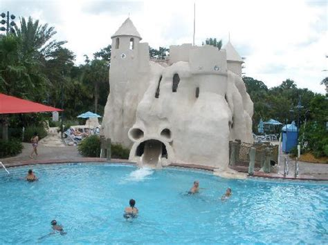 review disney s old key west resort the walt disney part of the main pool and it s slide picture of