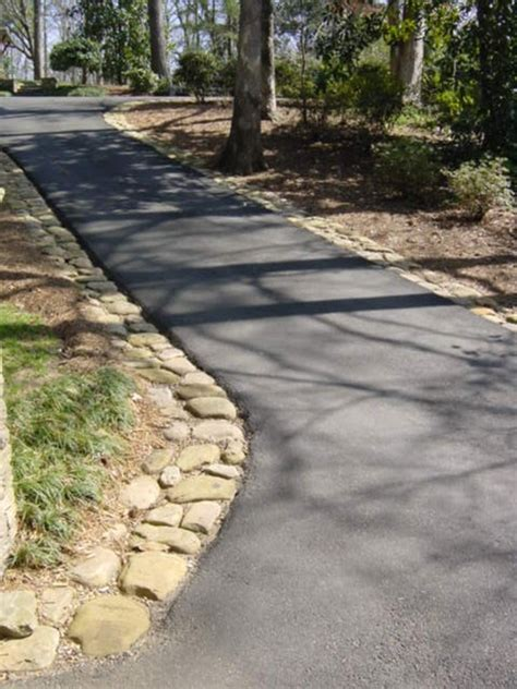 driveway edging options pictures to pin on pinterest pinsdaddy