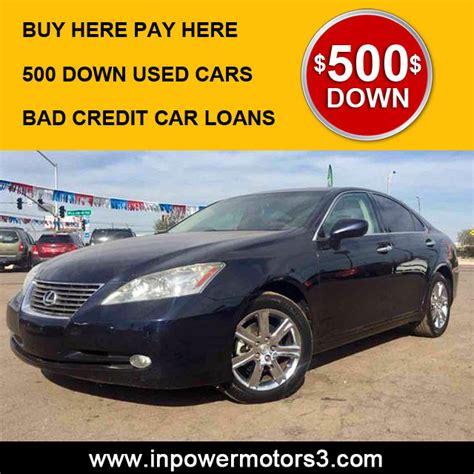bad credit car dealership phoenix  credit  power