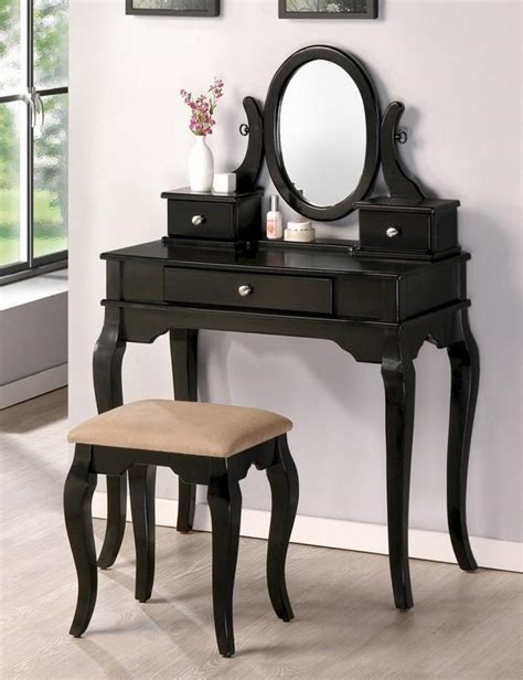 black bedroom vanity 10 bedroom vanities in modern black shade rilane