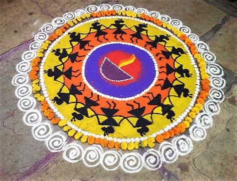rangoli photo  designs  diwali  home makeover