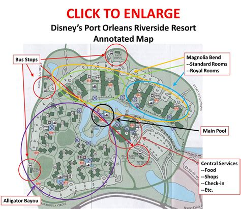 ucr cus map annotated map of disneys port orleans riverside resort walt disney world or bust
