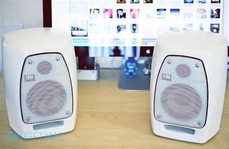 Krk Vxt 4 White krk vxt4 studio monitor speakers review gadgetmac