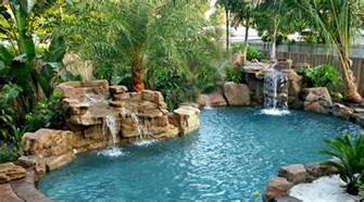 pool waterfalls ideas 15 pool waterfalls ideas for your outdoor space home