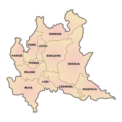 provinciale lombarda file lombardia province svg