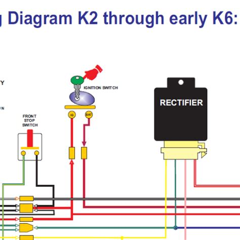 ct90 color wiring diagram k2 to early k6 all