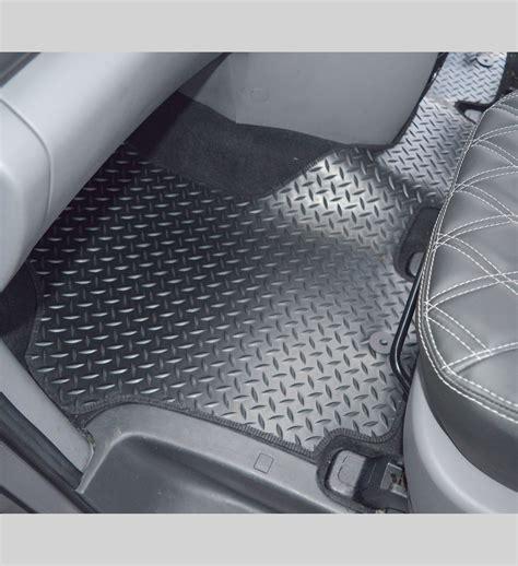 1 Front Floor Mats - hyundai i800 front 1 rubber floor mat car seat