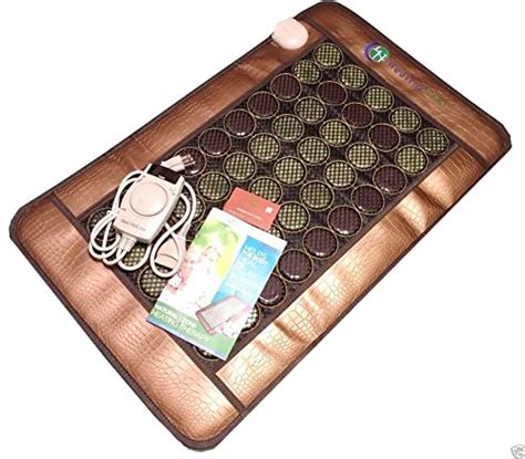 Jade Mat Coupon Code by Healthyline Jade Tourmaline Mat Negative Ions Heat Energy Therapy Healing Pad Mesh