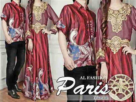 Silky Merah by Tren Kreasi Busana Muslim Batik Yang Modis Bajugamisku