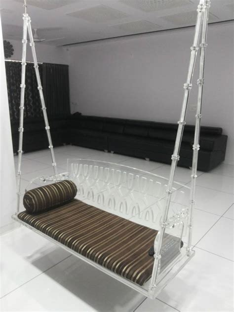 acrylic swing chair products acrylic swing chair manufacturer in gujarat