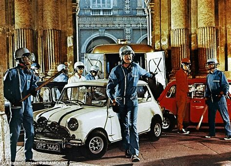 film italian job a big mini day out thousands take to the road for mini s
