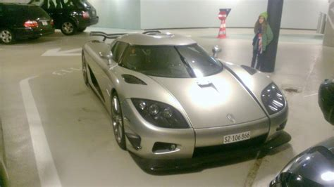 koenigsegg garage 2 million koenigsegg trevita abandoned in swiss parking