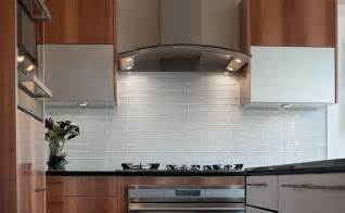 Kitchen Backsplash Tile Ideas Subway Glass by White Glass Subway Backsplash Photos Backsplash Com